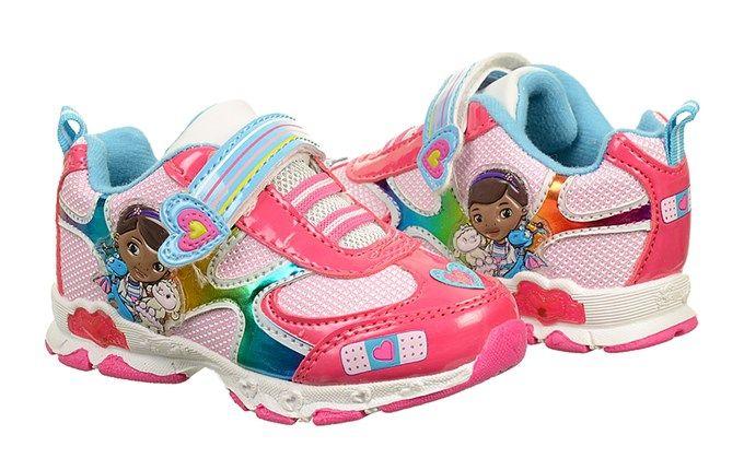 Kids' Doc McStuffins Light Up Sneaker