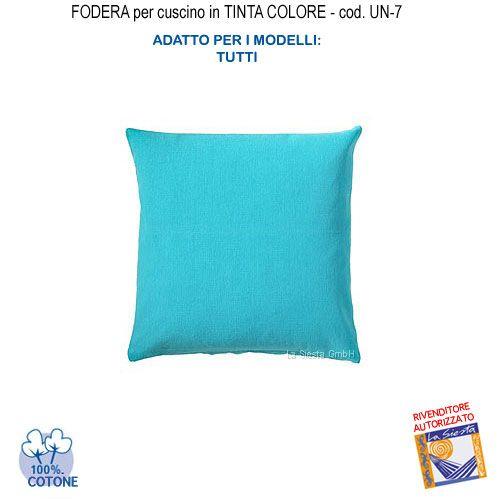 Cuscini Color Turchese.Federa In Tinta Per Cuscino Colore Celeste Un 7 Fs Cuscini