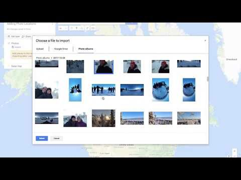 (207) Creating a My Map from a Google Photos Album - YouTube