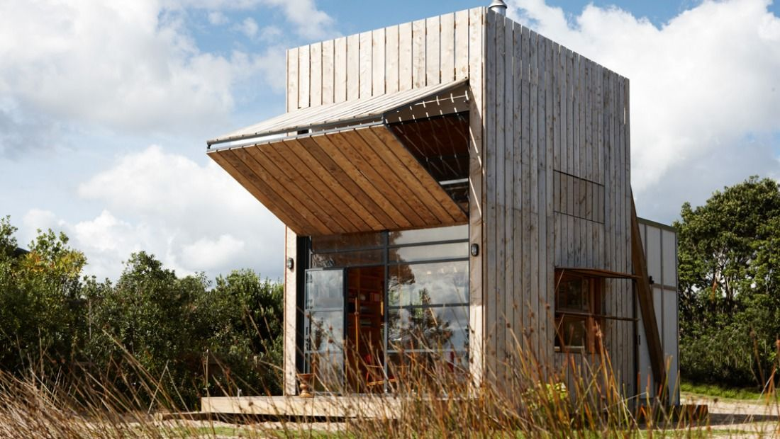 Crosson Clarke Carnachan Architects   The Hut on Sleds » Archipro