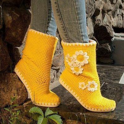1cff71704b4 Aprenda a confeccionar botas de crochê com o nosso passo a passo