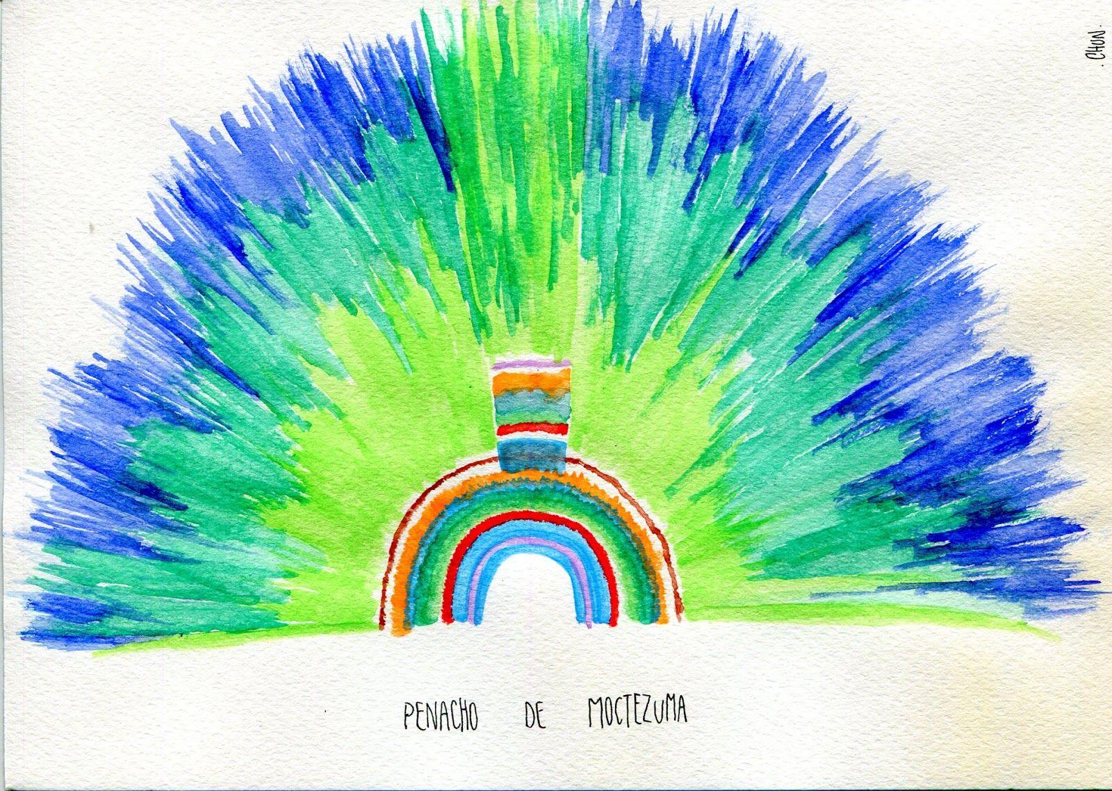 Penacho De Moctezuma 2013 Dibujos Proyectos Negocios