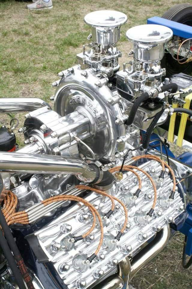 Hot Flathead with dual spark plug Elco Twin brand heads and