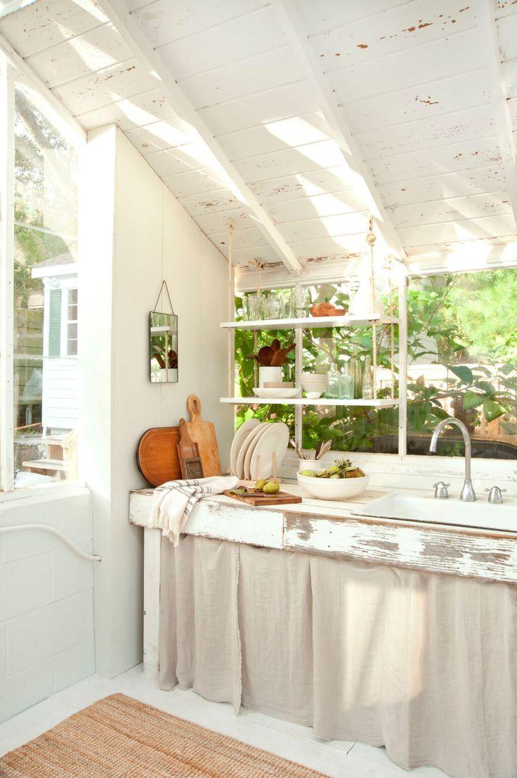 Emily Henderson Samsung The Frame My Scandinavian Home Greenhouse 43 ...