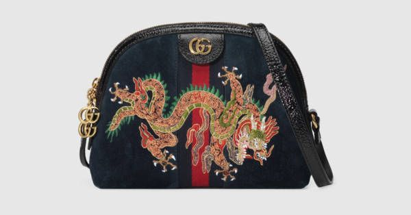 c65c723cd8 Gucci Ophidia embroidered small shoulder bag