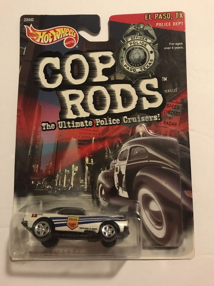 Hot Wheels Cop Rods '67 Camaro El Paso, TX Police Dept