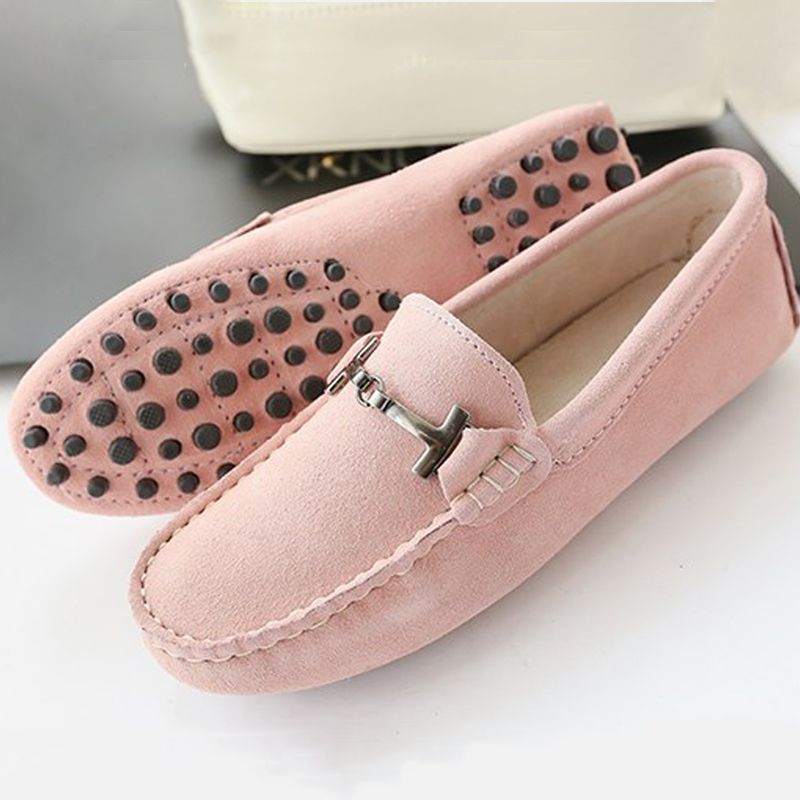 Shoes Women 2016 New brand women genuine Leather flats casual female  Moccasins Spring Summer lady loafers Women Driving Shoes - SMS - F A S H I  O N