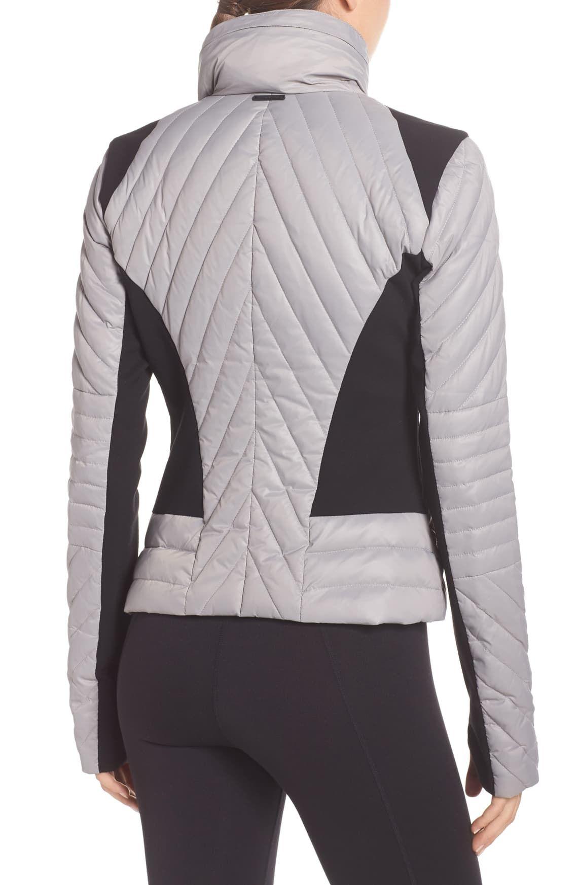 Blanc Noir Motion Panel Down Puffer Jacket Nordstrom Puffer Jackets Jackets Nordstrom [ 1746 x 1140 Pixel ]