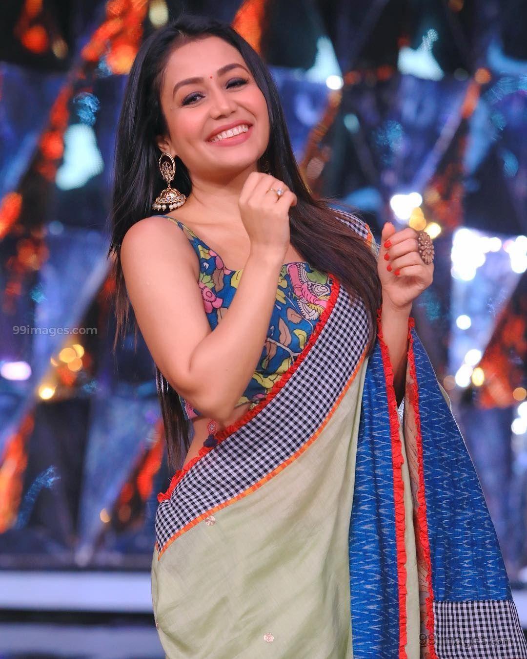 Neha Kakkar Beautiful Photos Mobile Wallpapers Hd Android Iphone 1080p 37826 Nehakakkar Actress Tele Neha Kakkar Dresses Neha Kakkar Stylish Sarees