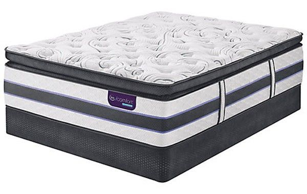 Serta Mattress Icomfort Hybrid Hb500q Super Pillow Top Cal King