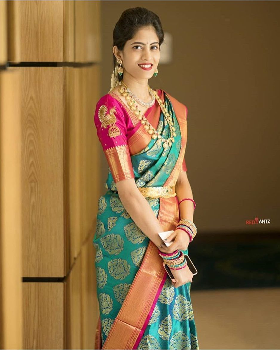 Pin By Nidharshan Viraj On Wedding Bride Bridal Blouse Designs