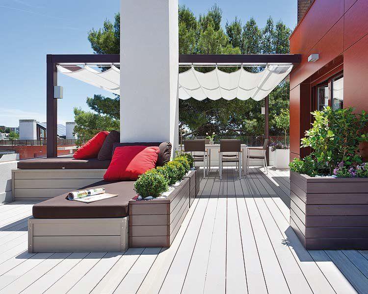 Fotos de decoraci n de terrazas aticos para m s for Imagenes de terrazas
