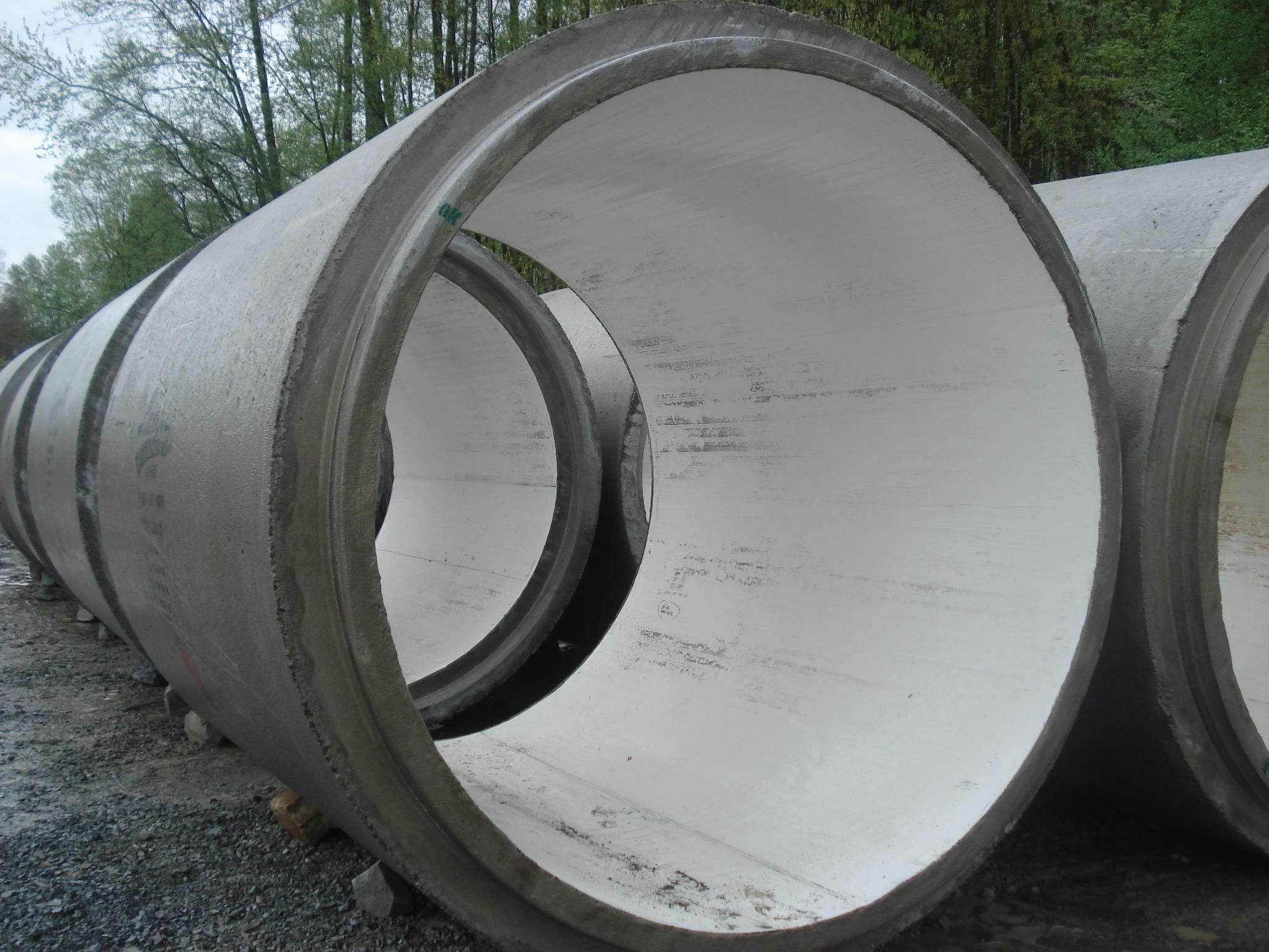 Precast Concrete Sewer Pipe : Lined concrete pipe for sanitary sewers precast