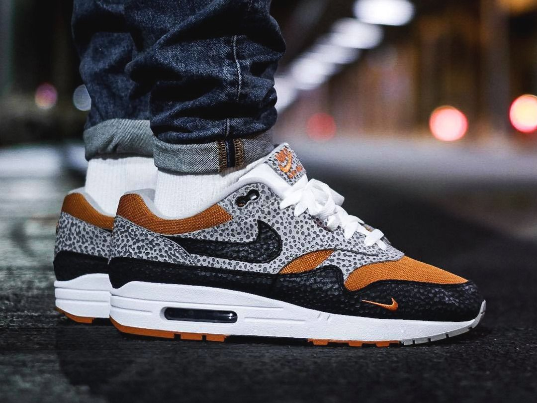 Nike Air Max 1 'Safari' size? Exclusive 2018 (by