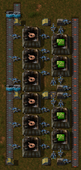 Lovely Compact Green Circuit Factory.