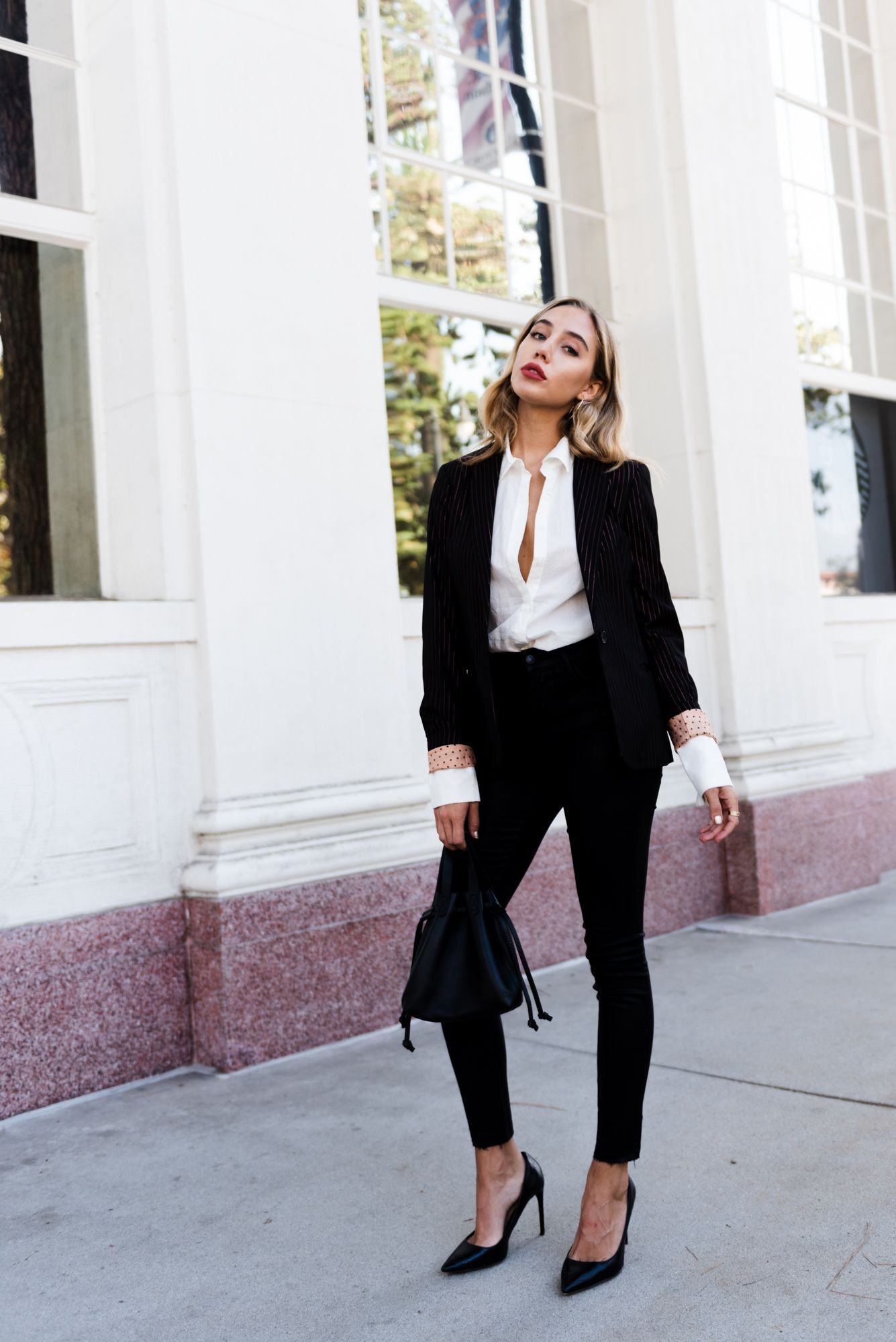 Fresh Ways to Wear Classic Outerwear | Outfits, Denim coat