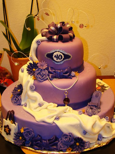 Marvelous All Sizes Big Sister 40Th Birthday Cake Flickr Photo Sharing Funny Birthday Cards Online Inifofree Goldxyz