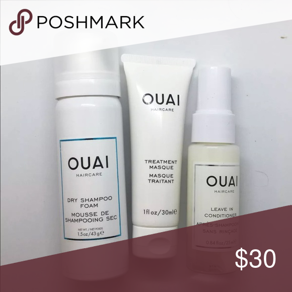 Ouai Hair Kit (3 Sample Products) Ouai Dry Shampoo 1.5