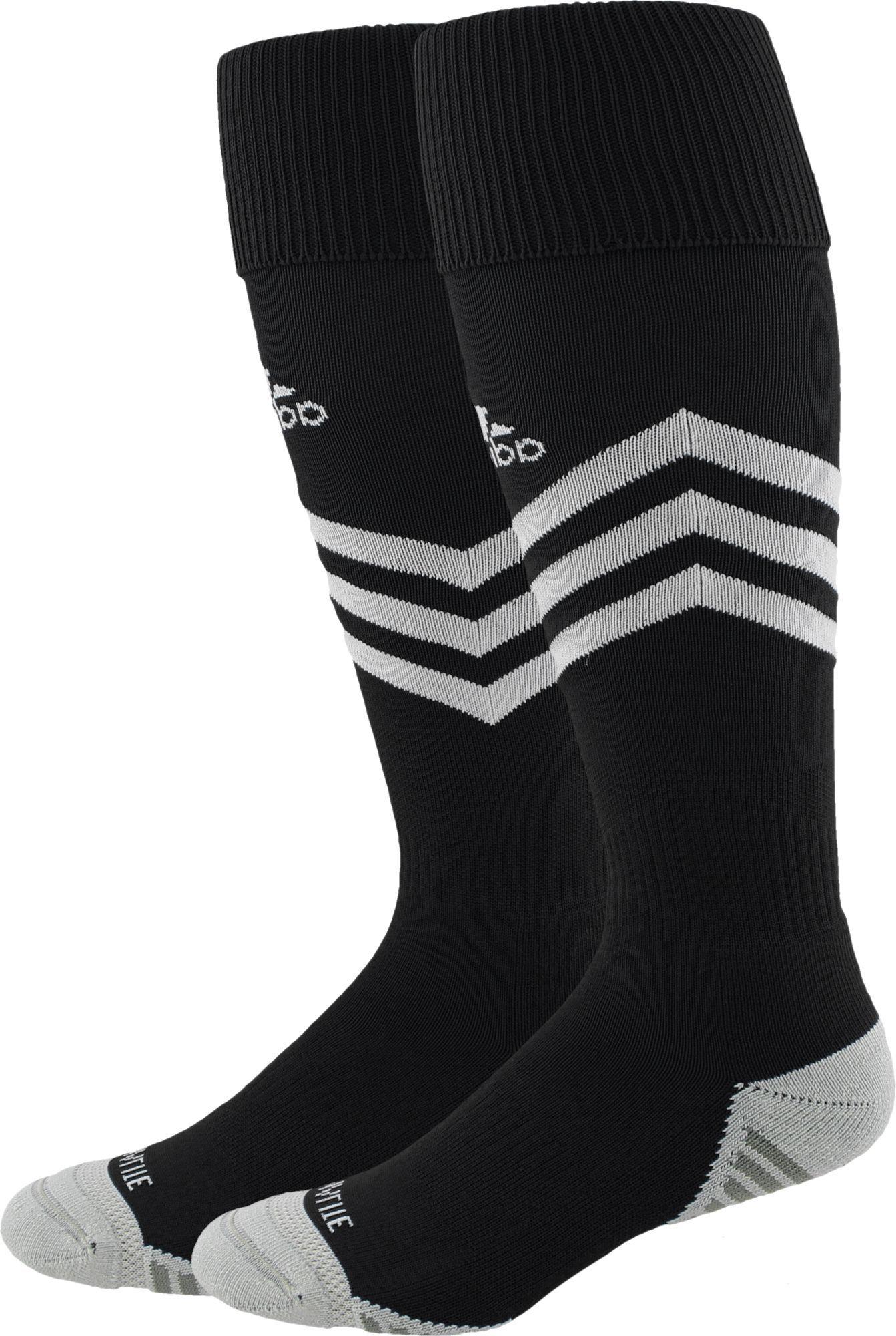 51df99ab5 adidas Mundial Zone Cushion OTC Soccer Socks, Kids Unisex, Size ...