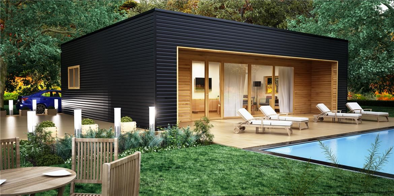Vigo 90 m entramado ligero casas de madera con entramado ligero exterior design pinterest - Casas entramado ligero ...
