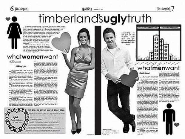 High School Newspaper Layouts  Google Search  School  High