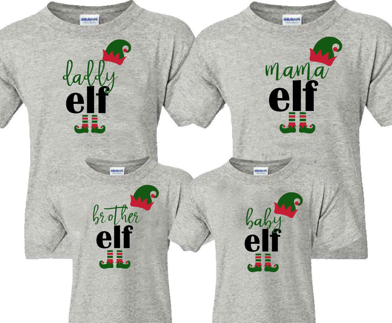 Mama elf daddy elf shark song elf shirt baby elf christmas jpg 1272x1048  Mama elf a56746d84