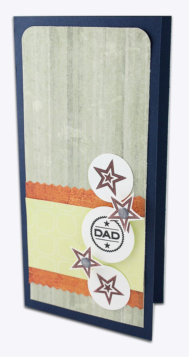 Dad Stamper System Card Project idea from Creative Memories  http://www.creativememories.com