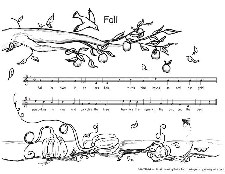 Free Downloadable Coloring Pages | Music for kids ...