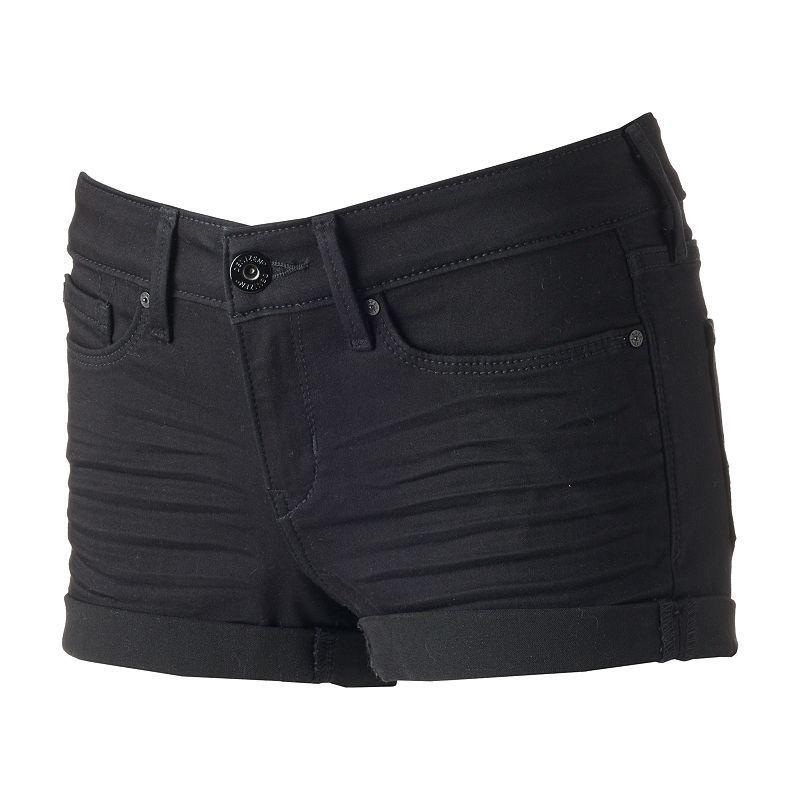 af5d1f1bef Juniors' Denizen from Levi's Low-Rise Denim Shortie Shorts, Girl's, Size: