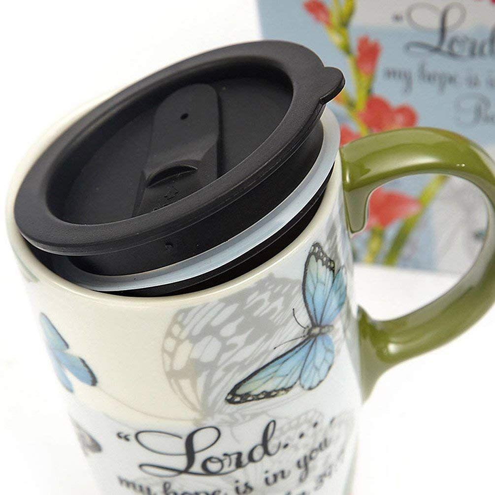 Amazon Com A Ting Tall Ceramic Travel Mug 17 Oz Sealed Lid With Gift Box Kitchen Dining God Jesus Bible Christian Ha Mugs Coffee Mugs Ceramics