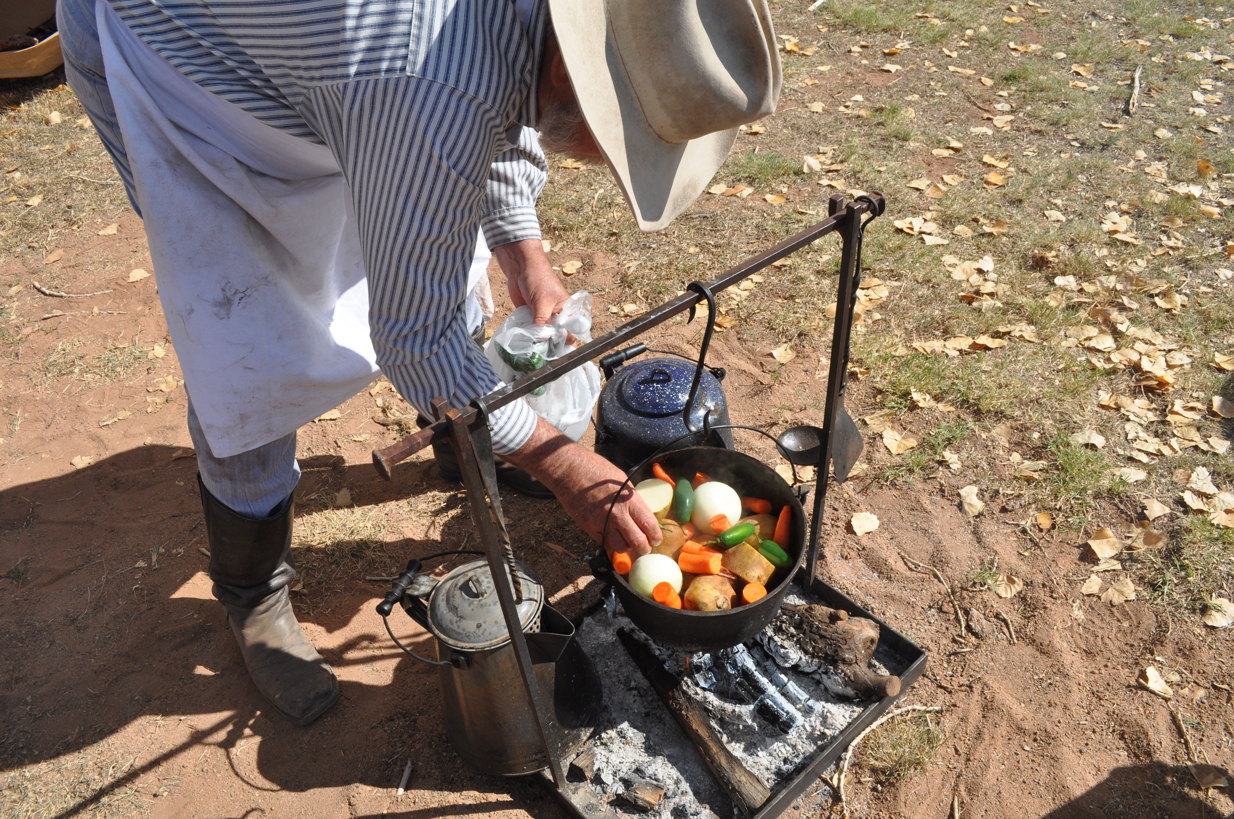Cowboy Campfire Cooking Equipment