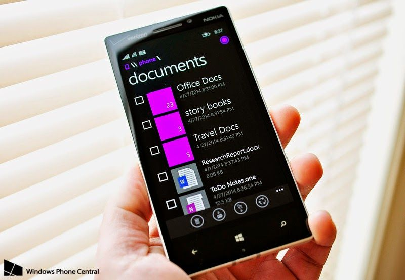 Official File Manager App Coming To Windows Phone 8 1 Blog Gadget Aplikasi