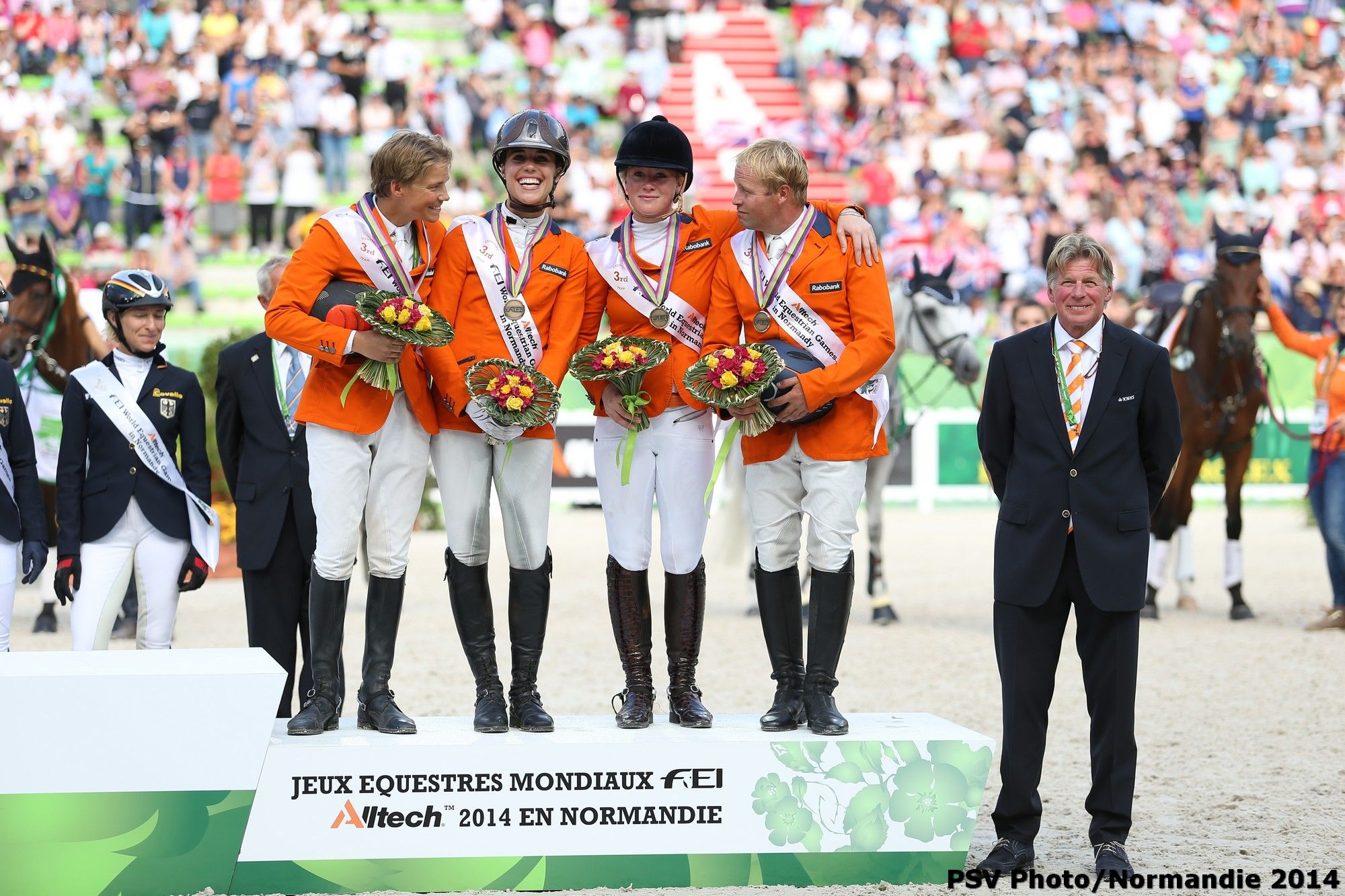Eventing Jumping - Bronze medalist - August 31th - Copyright : PSV Photo