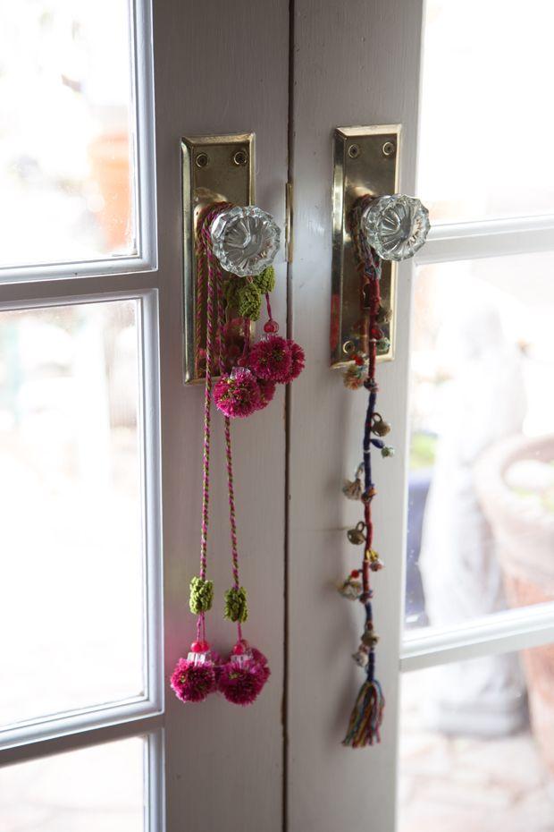 Adoorned Boho Bells Beads Tassels And Poms タッセル と 部屋