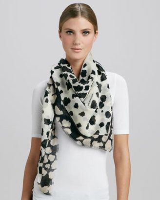 burberry animal scarf