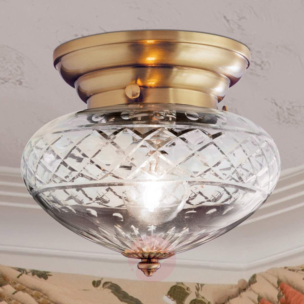 Pękata Lampa Sufitowa Enna 1 Punktowa W 2019 Lampy