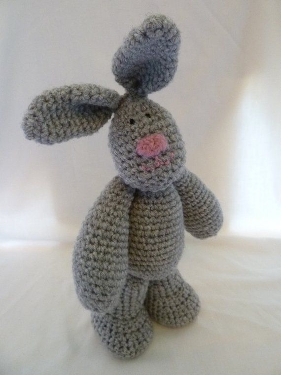 This is a PDF crochet pattern for the Auntie Burrows Rabbit only, her outfit is NOT included. She would be perfect as part of an Easter or Spring Equinox gift. ♥ The crochet pattern for the basic Auntie Burrows Rabbit (without the outfit) was originally published in the UKs Inside