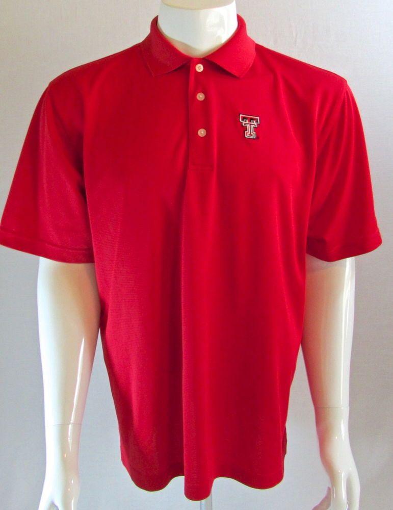 Men's Texas Tech PGA Tour Dri-Fit #Golf Polo Shirt Large  #PGATOUR #Polo #TexasTech