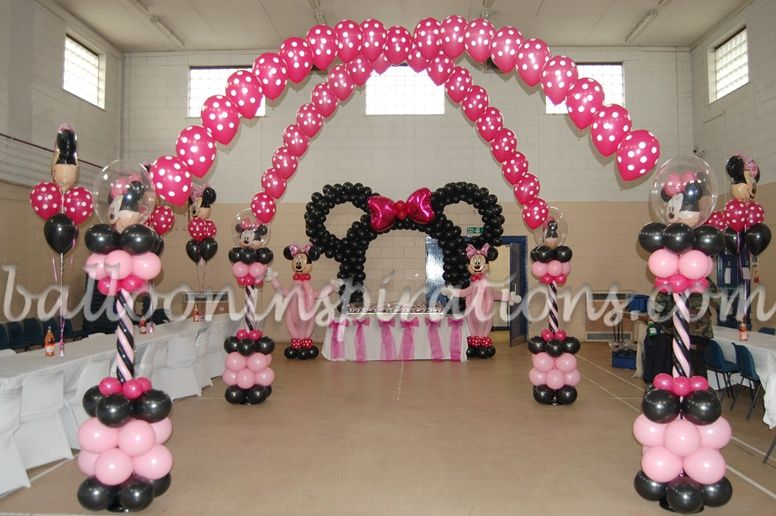 minnie mouse birthday party table coverings Kids Party
