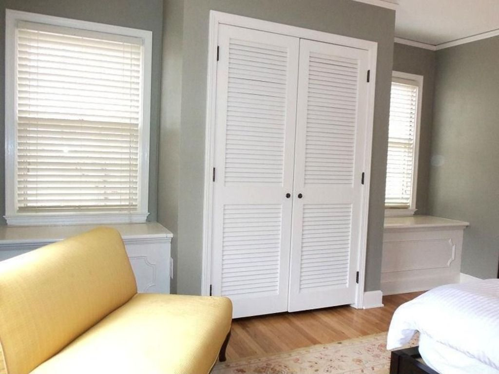 Delicieux Great Idea For Adding A Closet To An Old House With Small Closets   Build  It Out From The Wall And Small Storage Benches Near The Windows.