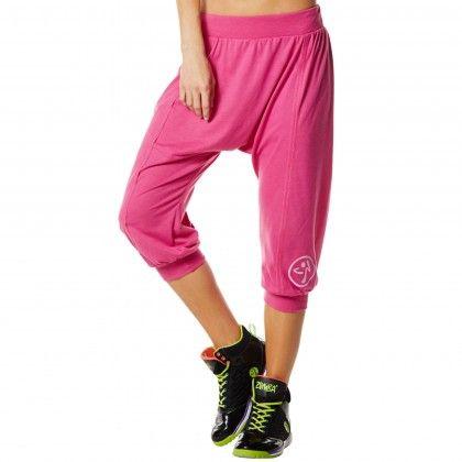 Zumba Fitness Hang Loose Harem Capri Pant - Pin a Rose <-- WISHLIST !!! #CUTE :-)!