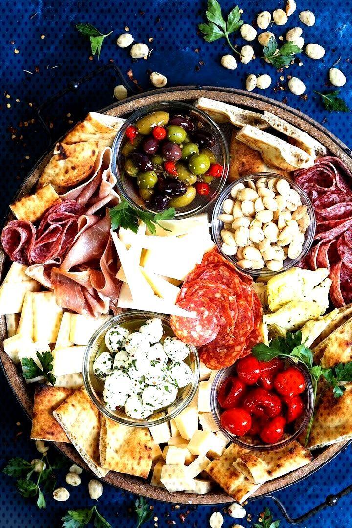 Antipasto Appetizer Cheese Board - Erfahren Sie, wie Sie das absolute PERFEKTE ... - -