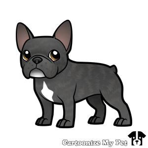 Preview 300 300 Pixels French Bulldog Art French Bulldog Drawing French Bulldog Cartoon