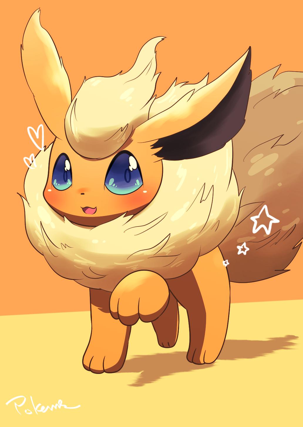 Flareon Cute Pokemon Wallpaper Cute Pokemon Cute Pokemon Pictures