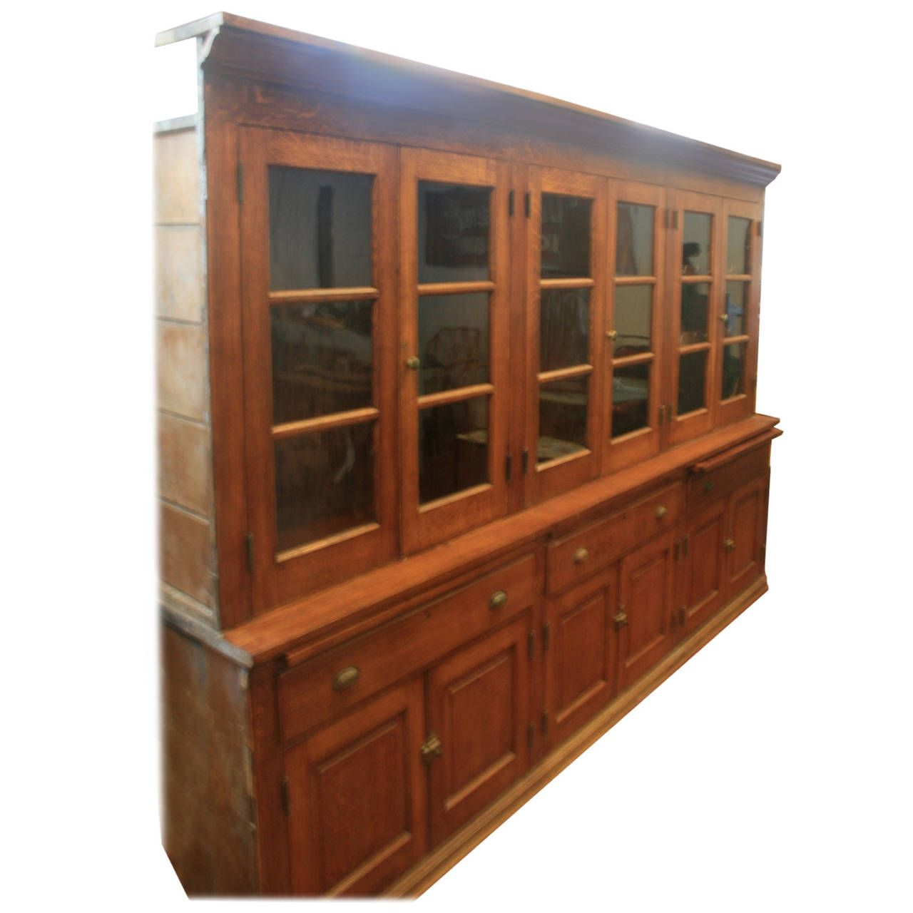 Giant 19th Century Butler S Pantry Cabinet 1 Pantry Cabinet Butler Pantry Vintage Cabinets