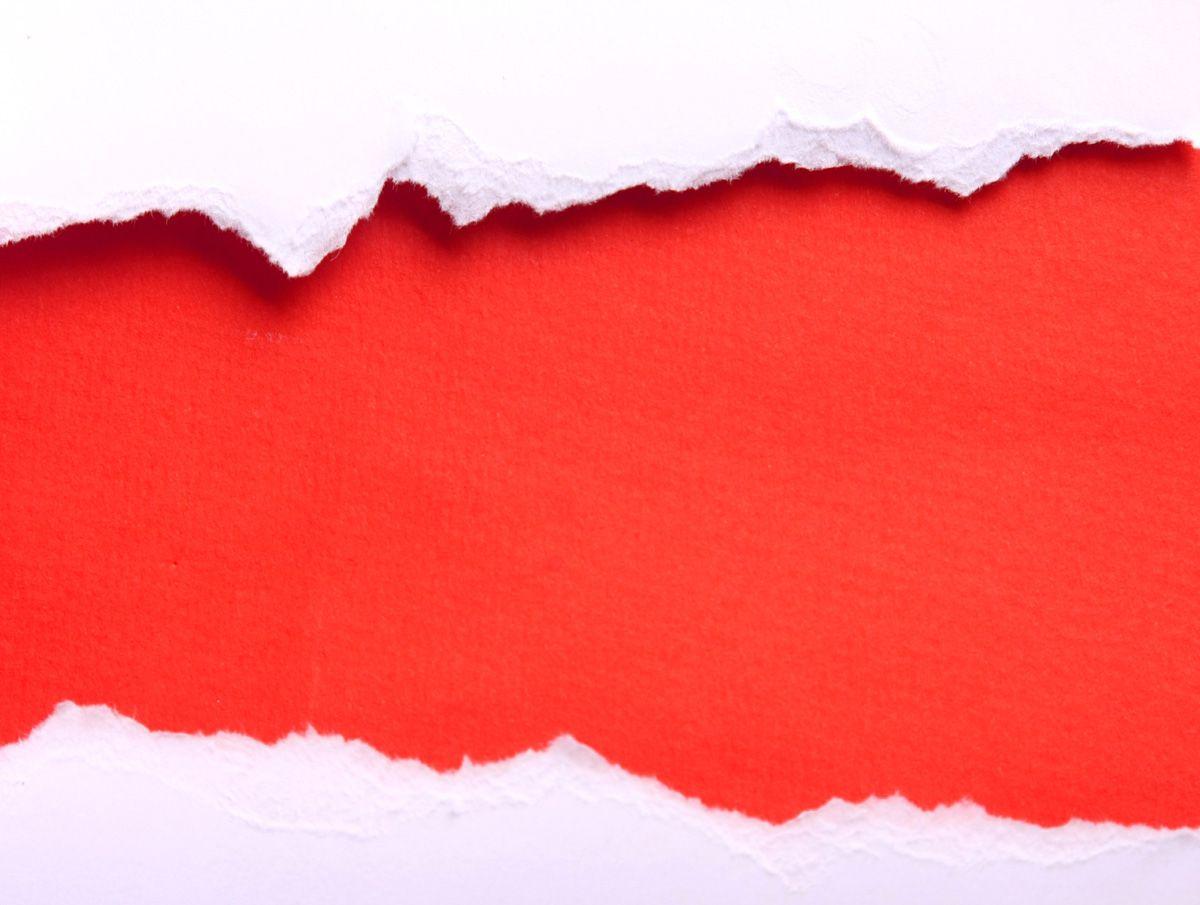 Torn paper fabric. Classic design material