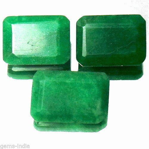 58.90 Ct/3 Pcs Natural Colombian Emerald Finest Green Faceted Gems~ Ring/Pendant #gemsindiaTopRatedPowerSeller5RatingeBay