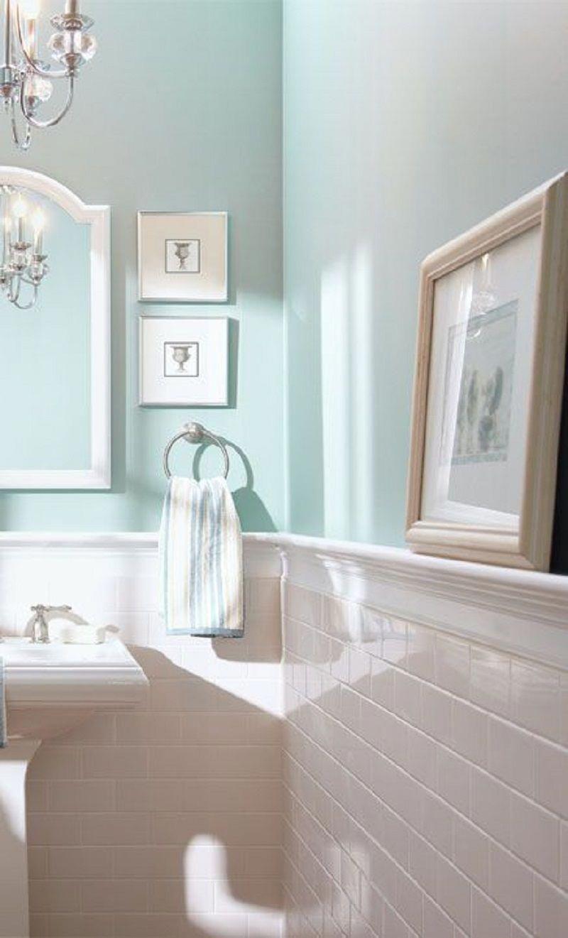 8 Enlightening Color Ideas For Windowless Bathroom En 2020 Idees Salle De Bain Idee Salle De Bain Deco Salle De Bain