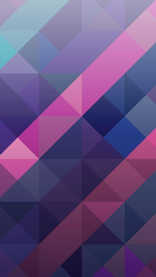 Abstract Colorful Geometric Triangles Wallpaper Iphone