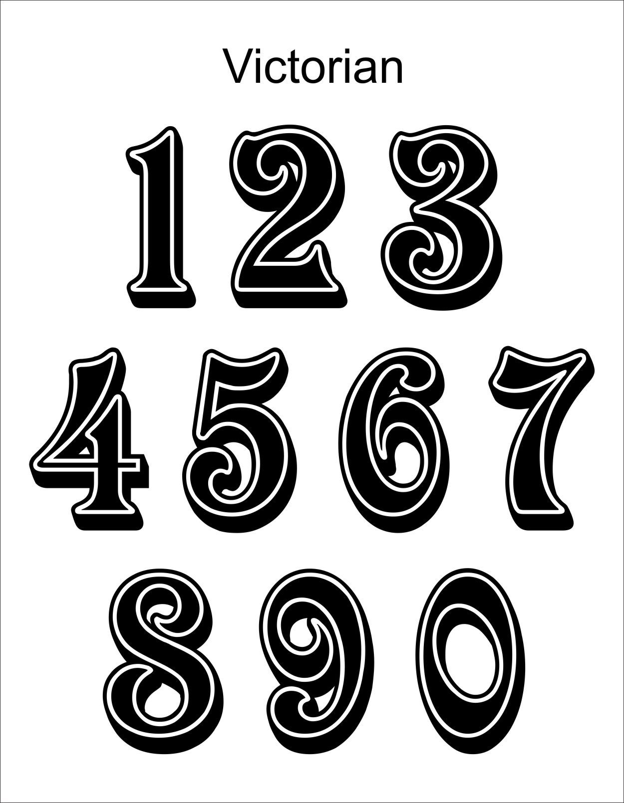 Victorian (With images) Victorian lettering, Victorian
